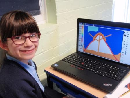 volcano diagram on laptops