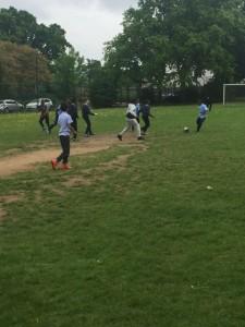 Football fun!
